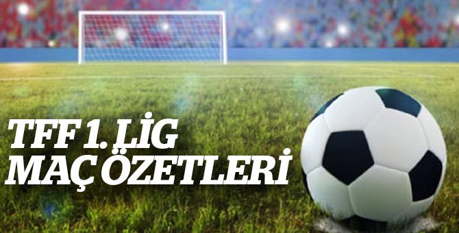 TFF 1. Lig Maç Özetleri 2017 2018 Sezonu 1.Hafta