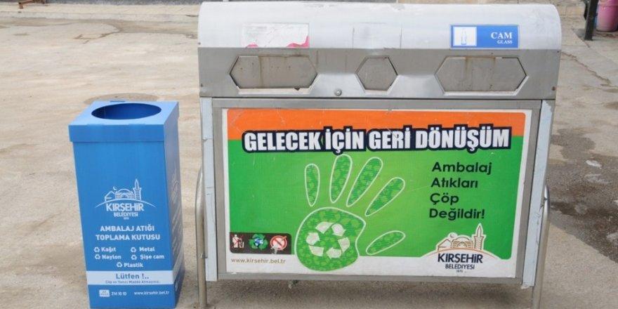 Kırşehir Belediyesi Temizlik İşlerinden 'Çevre Dostu Kırşehir' projesi