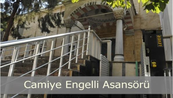 CAMİİLERE ENGELLİ ASANSÖRÜ