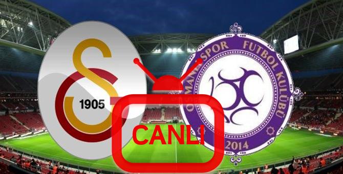 Osmanlıspor Galatasaray Maçı Canlı İzleme 19.08.2017