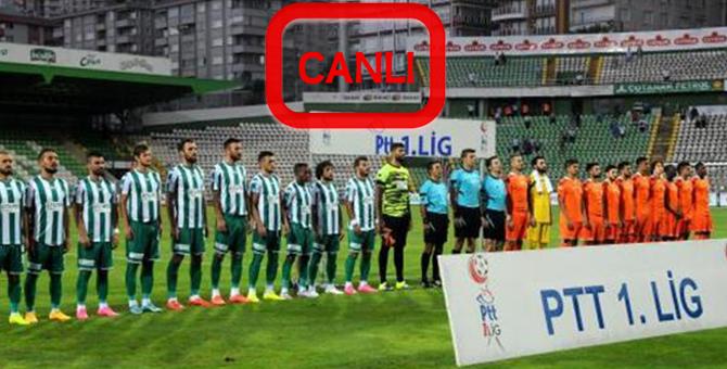 Giresunspor Adanaspor Maçını Canlı İzleme