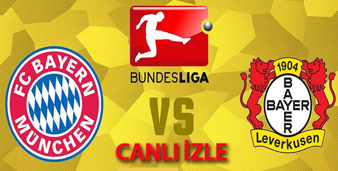 Bayern Münih - Bayer Leverkusen Maçı Canlı Şifresiz İzle 18.08,2017
