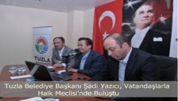Tuzla Belediye Başkanı Halk Meclisinde Vatandaşlarla Buluştu.