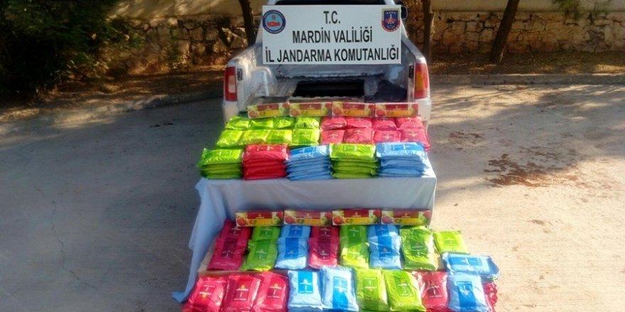 Mardin'de 665 kilogram kaçak tütün ele geçirildi