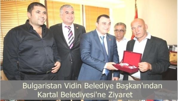 Bulgaristan Belediye Başkanından Kartal Belediyesine Ziyaret