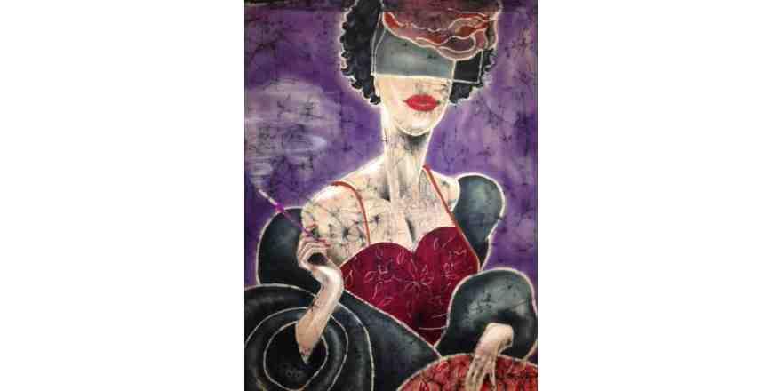 Mum Batik Sanatını Belçika'ya taşıdı