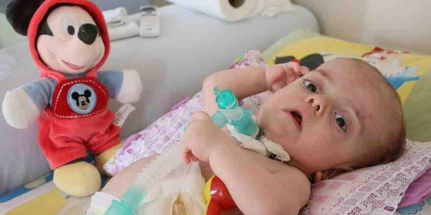 15 aylık Umut bebeğin yaşam savaşı