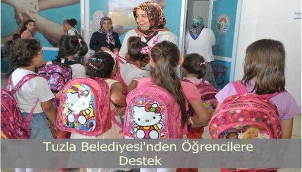 Tuzla Belediyesinden Öğrencilere Kırtasiye Yardımı