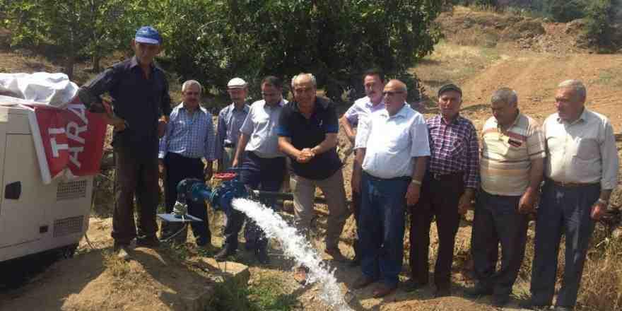 Bozdoğan'da su sorunu yaşanmayacak