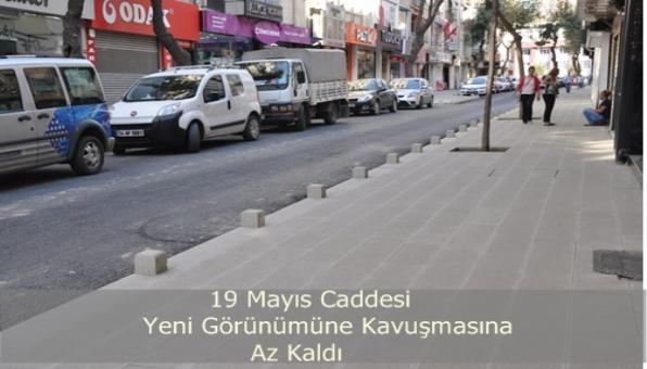 19 Mayıs Caddesi Yenileniyor