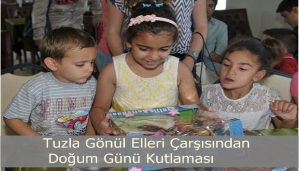 Gönülleri Çarşısı 25 Yetim Çocuğun Doğum Gününü Kutladı