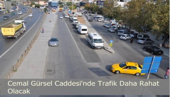 Cemal Gürsel Caddesi Artık Daha Geniş Olacak