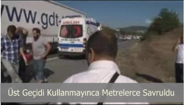 Sultantanbeyli TEM Otoyolunda Trafik Kazası