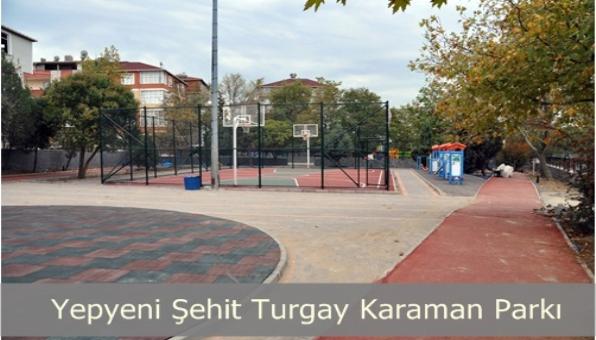 Turgay Karaman Parkı Yenileniyor.