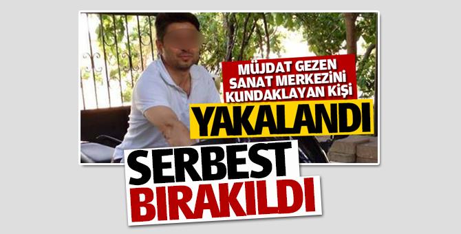 Sancaktepe'de yakalanan Mehmet Ali A. serbest bırakıldı