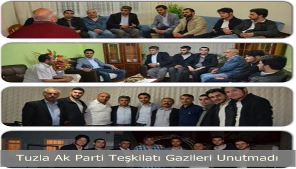 Tuzla Ak Parti Teşkilatı Gazileri Unutmadı