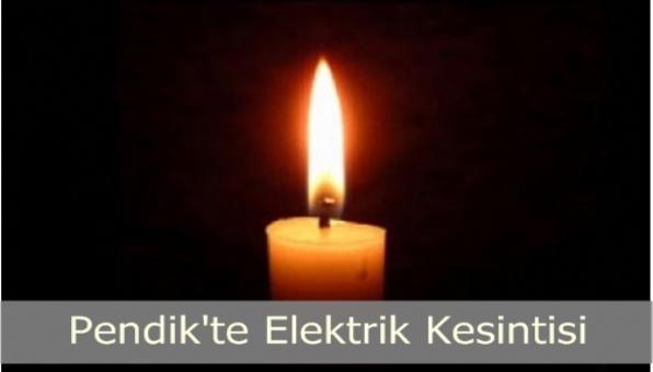 Pendik ve Üsküdar da Elektrik Kesintisi