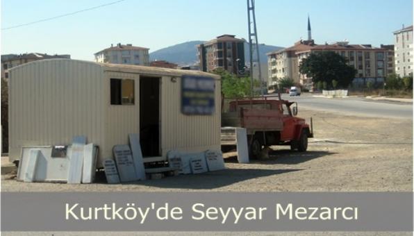 Pendik te Seyyar Mezarcı