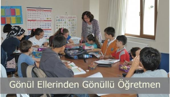 Gönül Ellerinden Gönüllü Öğretmen