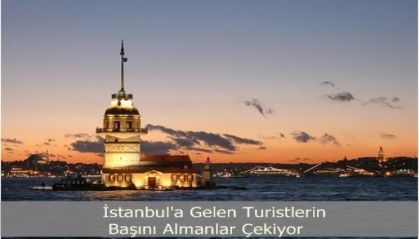 İstanbula Gelen Turistlerin Başını Almanlar Çekiyor