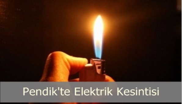 Pendik´te Elektrik Kesintisi