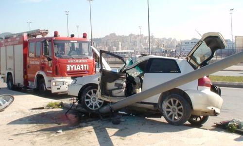 Pendik´te Trafik Kazası