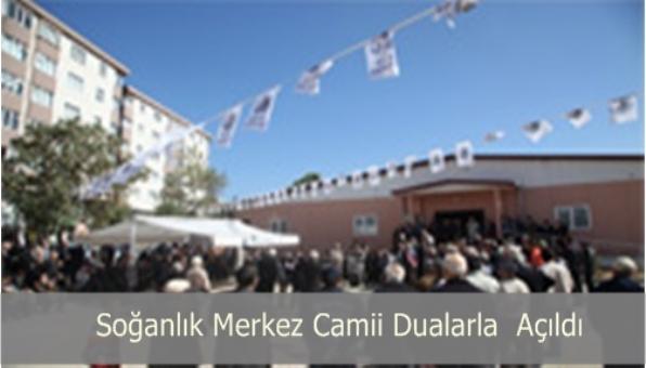 Soğanlık Merkez Camii Mescidi Açıldı