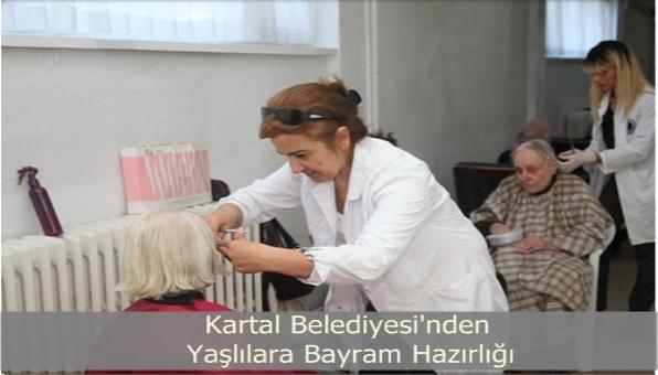 Kartal Belediyesi Yaşlılara Bayram Hazırlığı