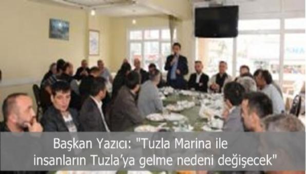 Tuzla Marina ile insanların Tuzla'ya gelme nedeni değişecek