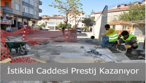 Esenyalı İstiklal Caddesi Prestij Kazanıyor.