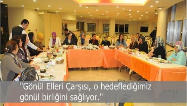 """Başkan Yazıcı """"Kadın Kent Gönüllülerimiz, Türkiye'ye örnek bir modeli uyguluyor"""""""