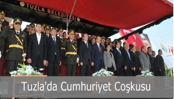 Tuzla´da Cumhuriyet Coşkusu