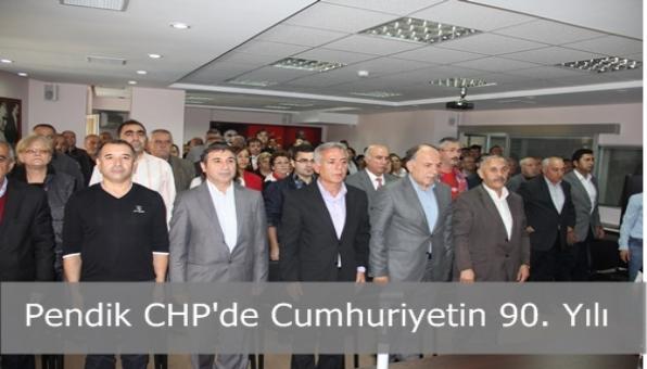 Pendik CHP'de Cumhuriyetin 90. Yılı