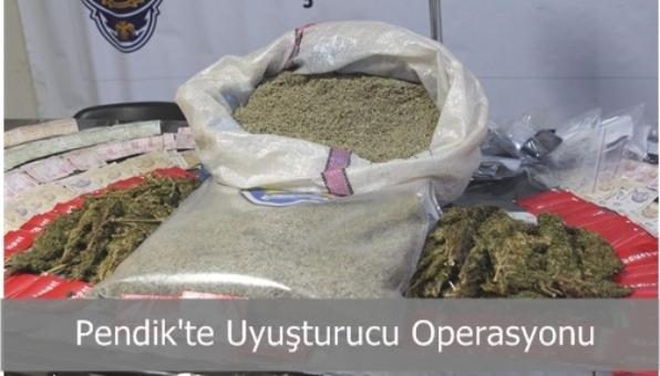 Pendik´te uyuşturucu Operasyonu Sonucu Altı Kişi Gözaltına Alındı