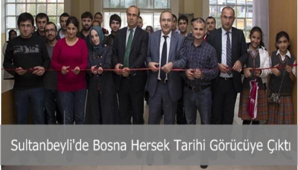 Sultanbeyli´de Bosna Hersek Tarihi Görücüye Çıktı