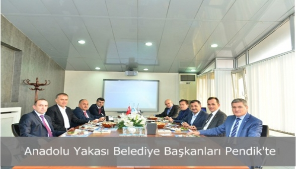 Anadolu Yakası Belediye Başkanları Pendik´te