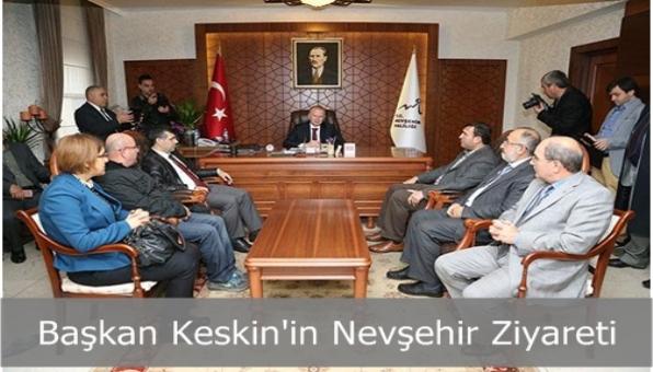 Sultanbeyli Belediye Başkanı Hüseyin Keskin Nevşehir Valisi´ni Ziyaret Etti