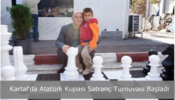 Kartal´da Atatürk Kupası Satranç Turnuvası Başladı