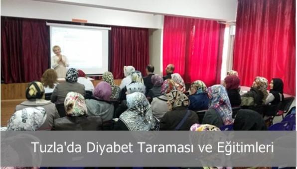 Tuzla´da Diyabet Taraması ve Eğitimleri