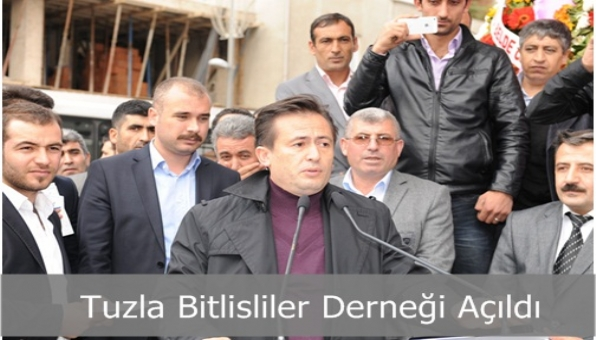 Tuzla Bitlisliler Derneği Açıldı