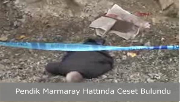 Pendik Marmaray Hattında Ceset Bulundu