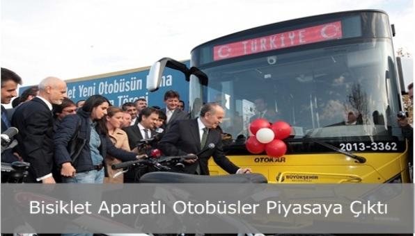 Bisiklet Aparatlı Otobüsler Piyasaya Çıktı