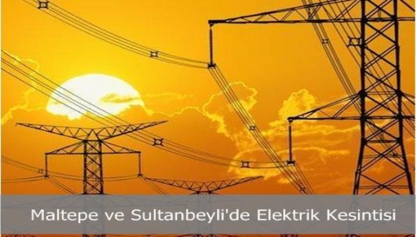 Sultanbeyli ve Maltepe´de Elektrik Kesintisi
