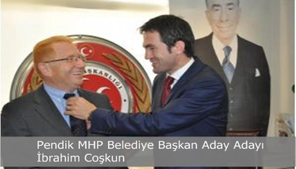 Pendik MHP Aday Adayı İbrahim Coşkun