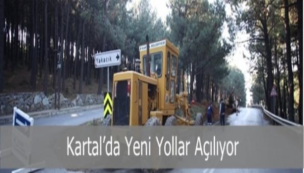 Kartal'da Yeni Yollar Açılıyor