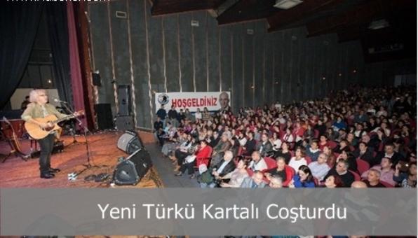 Yeni Türkü Kartalı Coşturdu