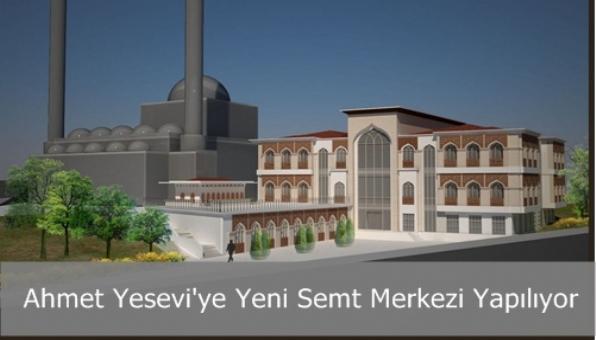 Ahmet Yesevi´ye Yeni Semt Merkezi Yapılıyor