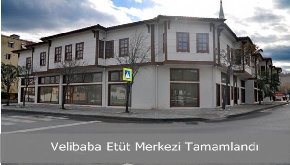 Velibaba Etüt Merkezi Tamamlandı