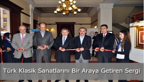 Türk Klasik Sanatlarını Bir Araya Getiren Sergi