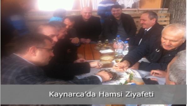 Kaynarca'da Hamsi Ziyafeti